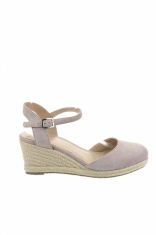 Γυναικεία παπούτσια San Marina, Μέγεθος 41, Χρώμα Γκρί, Φυσικό σουέτ, Τιμή 11,47€