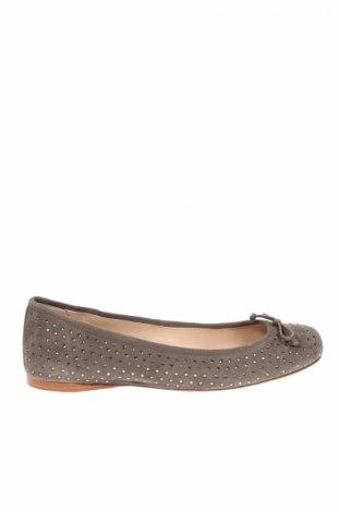 Γυναικεία παπούτσια Twin-Set Simona Barbieri, Μέγεθος 40, Χρώμα Γκρί, Φυσικό σουέτ, Τιμή 33,38€