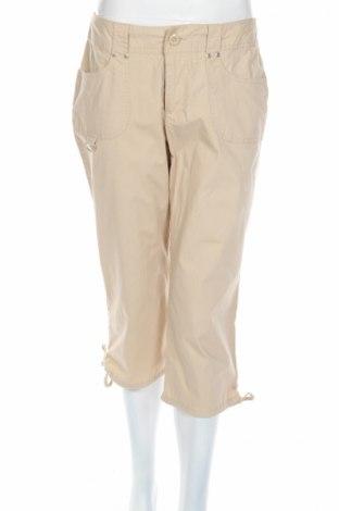 Дамски панталон Allison Brittney, Размер M, Цвят Бежов, 98% памук, 2% еластан, Цена 6,25лв.