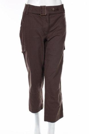 Дамски панталон Authentic Clothing, Размер L, Цвят Кафяв, 100% памук, Цена 7,02лв.