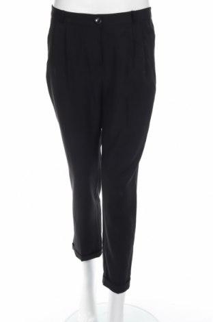Γυναικείο παντελόνι Bonsui, Μέγεθος M, Χρώμα Μαύρο, 95% πολυεστέρας, 5% ελαστάνη, Τιμή 10,52€