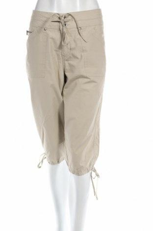 Дамски панталон Carla F., Размер M, Цвят Бежов, Памук, Цена 4,83лв.