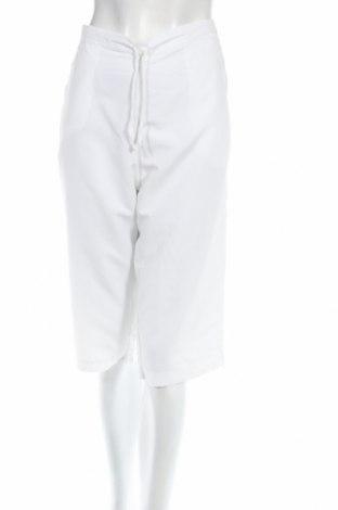 Дамски панталон Danskin, Размер M, Цвят Бял, Полиестер, Цена 3,08лв.