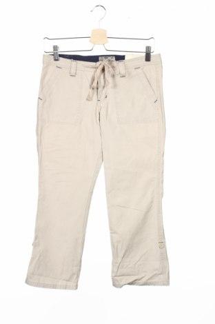 Дамски панталон L.e.i., Размер S, Цвят Бежов, Памук, Цена 3,22лв.