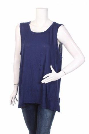 Дамски потник Adrienne Vittadini, Размер XL, Цвят Син, 50% памук, 50% модал, Цена 7,00лв.