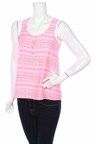 Γυναικείο αμάνικο μπλουζάκι Pink Rose, Μέγεθος S, Χρώμα Ρόζ , Πολυεστέρας, Τιμή 2,97€