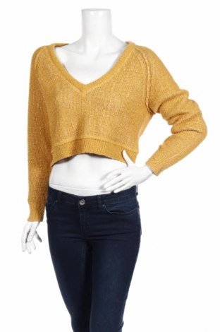 Dámský svetr Free People, Rozměr XS, Barva Žlutá, 89% bavlna, 11% polyamide, Cena  515,00Kč