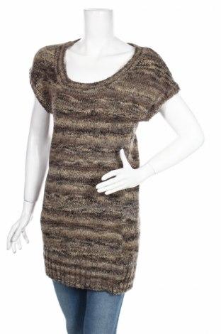 Дамски пуловер H&M, Размер XS, Цвят Многоцветен, 60% акрил, 23% полиестер, 9% вълна, 8% метални нишки, Цена 7,33лв.