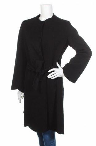Γυναικείο παλτό Weekend Max Mara, Μέγεθος L, Χρώμα Μαύρο, Μαλλί, Τιμή 721,13€