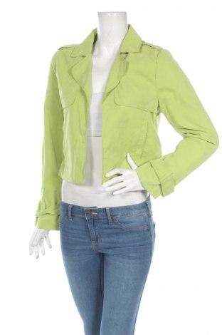 Дамско яке K.zell, Размер M, Цвят Зелен, Полиестер, Цена 12,48лв.