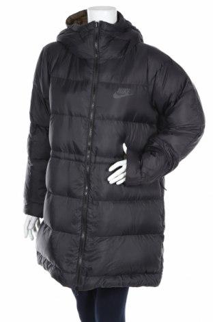 Дамско яке Nike, Размер L, Цвят Син, Полиестер, пух и пера, Цена 164,25лв.