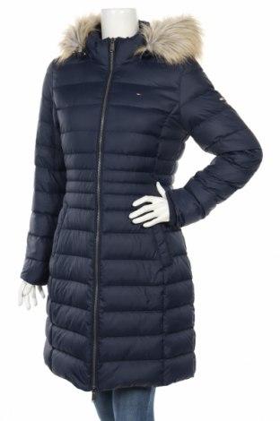 Dámská bunda  Tommy Hilfiger, Rozměr L, Barva Modrá, Polyester, peří , Cena  5801,00Kč