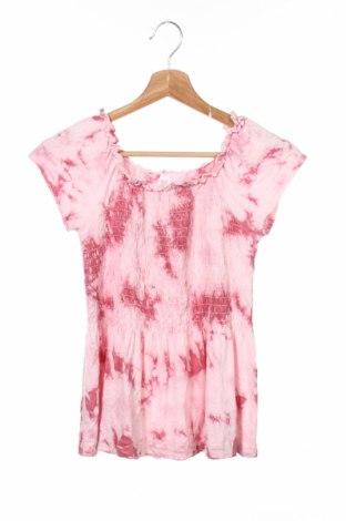 Детска блуза Justice, Размер 11-12y/ 152-158 см, Цвят Розов, 96% вискоза, 4% еластан, Цена 3,50лв.