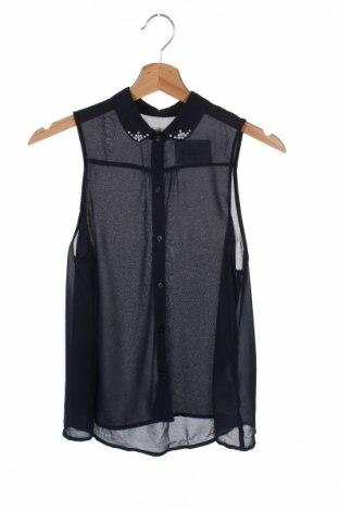 Детска риза Abercrombie Kids, Размер 12-13y/ 158-164 см, Цвят Син, Полиестер, Цена 8,50лв.