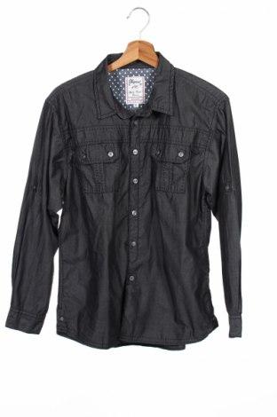 Детска риза Authentic & Original, Размер 15-18y/ 170-176 см, Цвят Сив, 60% памук, 40% полиестер, Цена 4,00лв.