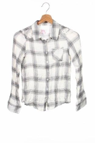 Детска риза Justice, Размер 11-12y/ 152-158 см, Цвят Многоцветен, 99% вискоза, 1% метални нишки, Цена 3,50лв.