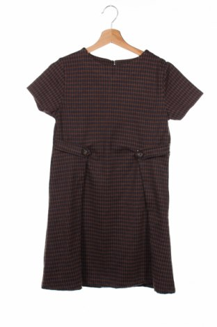 Детска рокля Zara Kids, Размер 12-13y/ 158-164 см, Цвят Кафяв, 77% полиестер, 22% вискоза, 1% еластан, Цена 11,27лв.