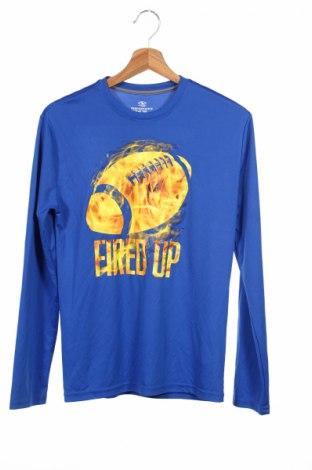 Детска спортна блуза Athletic Works, Размер 14-15y/ 168-170 см, Цвят Син, Полиестер, Цена 4,50лв.