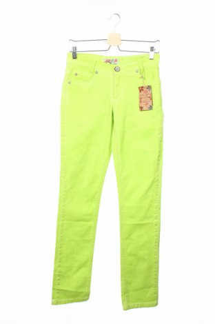 Dětské džíny  Blue Effect, Rozměr 15-18y/ 170-176 cm, Barva Zelená, 97% bavlna, 3% elastan, Cena  170,00Kč