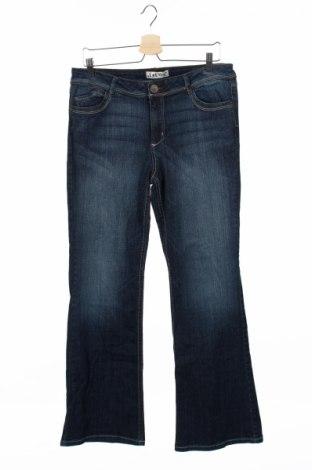 Детски дънки L.e.i., Размер 15-18y/ 170-176 см, Цвят Син, 98% памук, 2% еластан, Цена 5,75лв.
