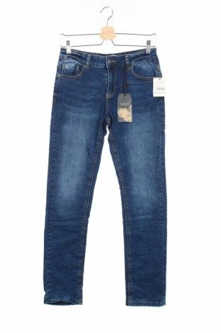 Детски дънки Review, Размер 15-18y/ 170-176 см, Цвят Син, 98% памук, 2% еластан, Цена 12,42лв.