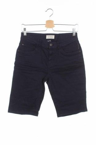 Pantaloni scurți de copii Review, Mărime 14-15y/ 168-170 cm, Culoare Albastru, 97% bumbac, 3% elastan, Preț 53,68 Lei