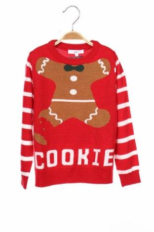 Παιδικό πουλόβερ Jake*s, Μέγεθος 7-8y/ 128-134 εκ., Χρώμα Κόκκινο, Πολυακρυλικό, Τιμή 5,41€