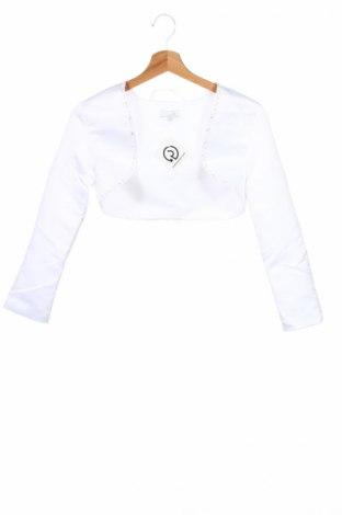 Детско болеро E girls, Размер 12-13y/ 158-164 см, Цвят Бял, Полиестер, Цена 21,75лв.