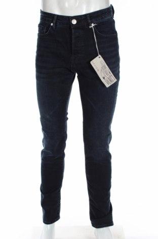 Męskie jeansy Review, Rozmiar M, Kolor Niebieski, 98% bawełna, 2% elastyna, Cena 48,36zł