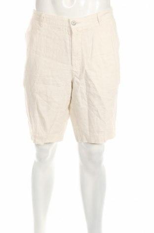 Pantaloni scurți de bărbați Hugo Boss, Mărime XL, Culoare Bej, 100% in, Preț 164,61 Lei