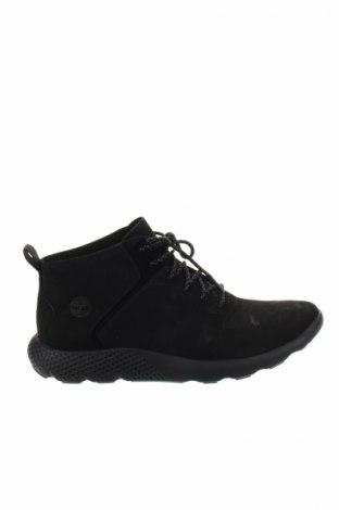Ανδρικά παπούτσια Timberland, Μέγεθος 42, Χρώμα Μαύρο, Γνήσιο δέρμα, κλωστοϋφαντουργικά προϊόντα, Τιμή 116,29€