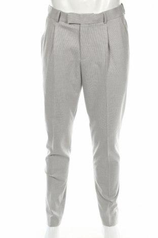 Мъжки панталон McNeal, Размер M, Цвят Сив, 63% полиестер, 33% вискоза, 4% еластан, Цена 21,16лв.