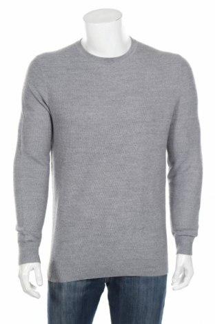 Ανδρικό πουλόβερ Christian Berg, Μέγεθος L, Χρώμα Γκρί, 50% μαλλί, 50% πολυακρυλικό, Τιμή 45,88€