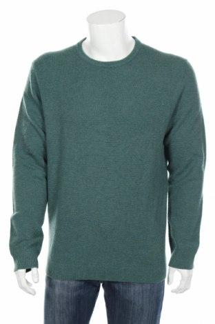 Ανδρικό πουλόβερ Christian Berg, Μέγεθος XL, Χρώμα Πράσινο, Μαλλί, Τιμή 56,19€