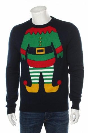 Ανδρικό πουλόβερ Montego, Μέγεθος M, Χρώμα Μπλέ, Πολυακρυλικό, Τιμή 30,41€