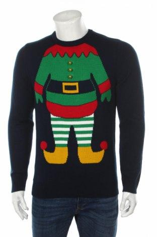 Pánsky sveter  Montego, Veľkosť S, Farba Modrá, Polyacryl, Cena  30,41€