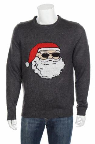 Pánsky sveter  Only & Sons, Veľkosť L, Farba Sivá, Akryl, Cena  26,80€
