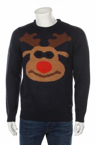 Pánsky sveter  Only & Sons, Veľkosť L, Farba Modrá, Akryl, Cena  26,80€