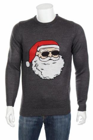 Ανδρικό πουλόβερ Only & Sons, Μέγεθος S, Χρώμα Γκρί, Ακρυλικό, Τιμή 24,74€