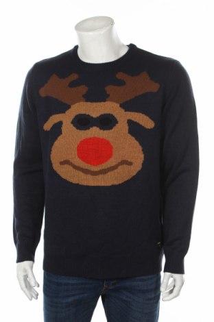 Pánsky sveter  Only & Sons, Veľkosť XL, Farba Modrá, Akryl, Cena  26,80€