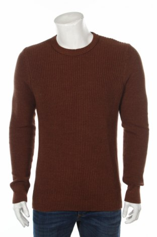 Pánsky sveter  Selected Homme, Veľkosť M, Farba Hnedá, Bavlna, Cena  40,72€