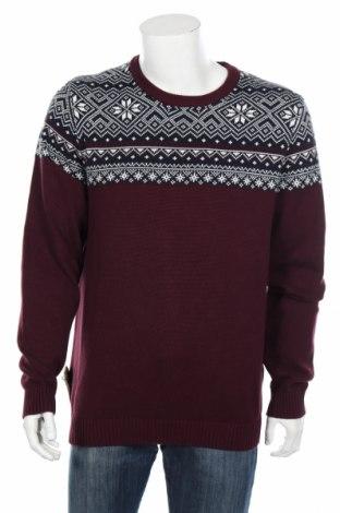 Pánsky sveter  Selected Homme, Veľkosť XL, Farba Červená, Bavlna, Cena  40,72€