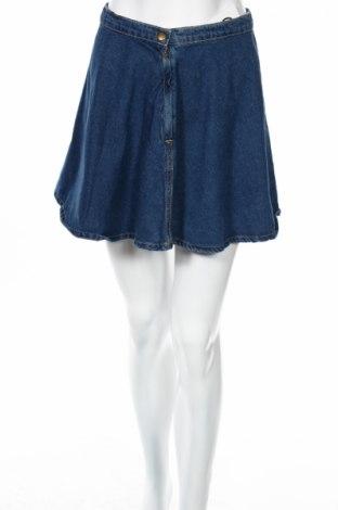 Пола American Apparel, Размер S, Цвят Син, 100% памук, Цена 12,25лв.