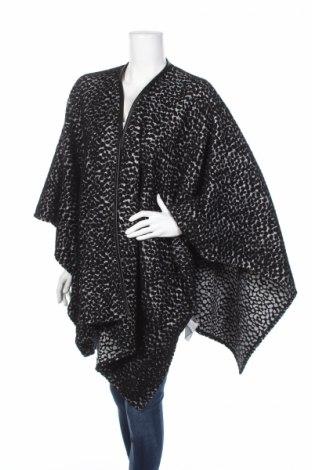 Πόντσο White Label by Rofa fashion group, Μέγεθος M, Χρώμα Μαύρο, 55% πολυεστέρας, 40% μαλλί, 5% άλλα υφάσματα, Τιμή 47,42€