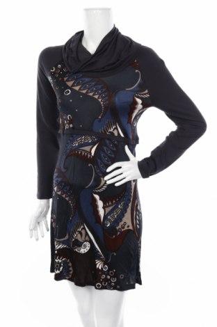 Рокля Atmos Fashion, Размер L, Цвят Многоцветен, Вискоза, Цена 7,25лв.