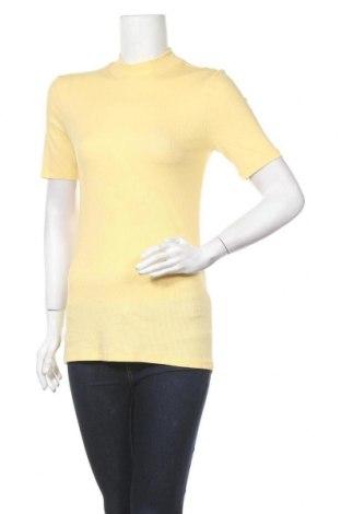 Μπλούζα εγκυμοσύνης Pieces, Μέγεθος S, Χρώμα Κίτρινο, 52% lyocell, 43% βισκόζη, 5% ελαστάνη, Τιμή 6,12€