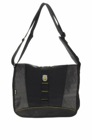 Чанта за лаптоп Timberland, Цвят Черен, Текстил, Цена 58,01лв.