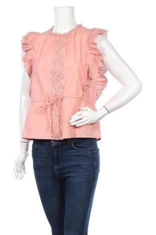 Γυναικεία μπλούζα Aware by Vero Moda, Μέγεθος S, Χρώμα Ρόζ , Βαμβάκι, Τιμή 10,58€