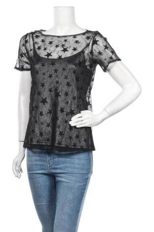 Дамска блуза Etam, Размер M, Цвят Черен, Полиамид, Цена 5,00лв.