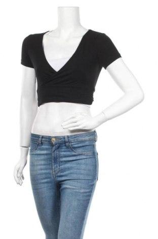 Дамска блуза Even&Odd, Размер XS, Цвят Черен, 95% памук, 5% еластан, Цена 16,96лв.